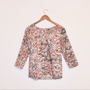 The Limited Patterned Blouse
